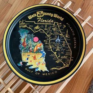 Disney True Vintage 1980's Theme Park Plate